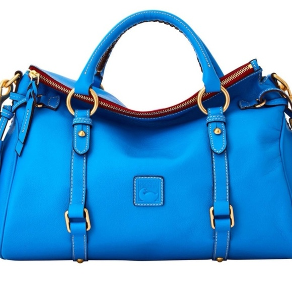 Dooney & Bourke Handbags - Dooney raleigh med Dusty Blue